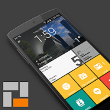 SquareHome 2 - Launcher: Windows style