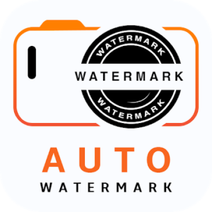 Auto Watermark Camera Logo Text & Time Stamp